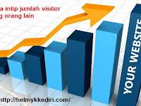 Cara mengetahui jumlah pengunjung blog lain