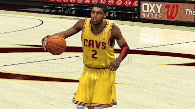 NBA 2K13 Kyrie Irving / Uncle Drew Cyberface Patch