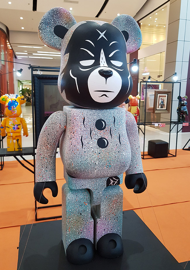 "P7 - ""Color Me Bear 2018"" custom Be@rBrick toy"