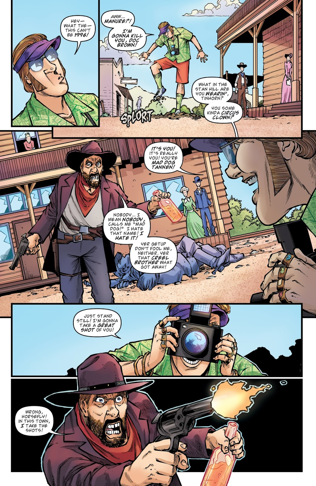 Read online Back to the Future: Biff to the Future comic -  Issue #6 - 20