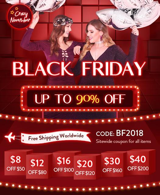Black Friday on Dresslily.com !