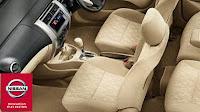 Nissan Grand Livina Memiliki kursi depan yang nyaman