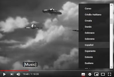 Subtítulos en español Youtube