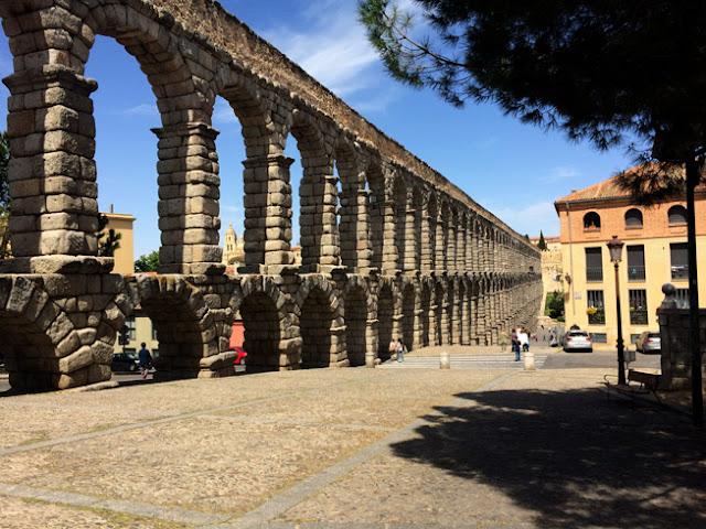 Acueducto de Segovia - caravaneros.com
