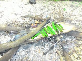 kerang bakar / abalone bakar