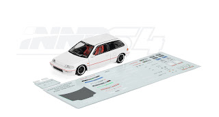 inno 1/64 honda civic decals