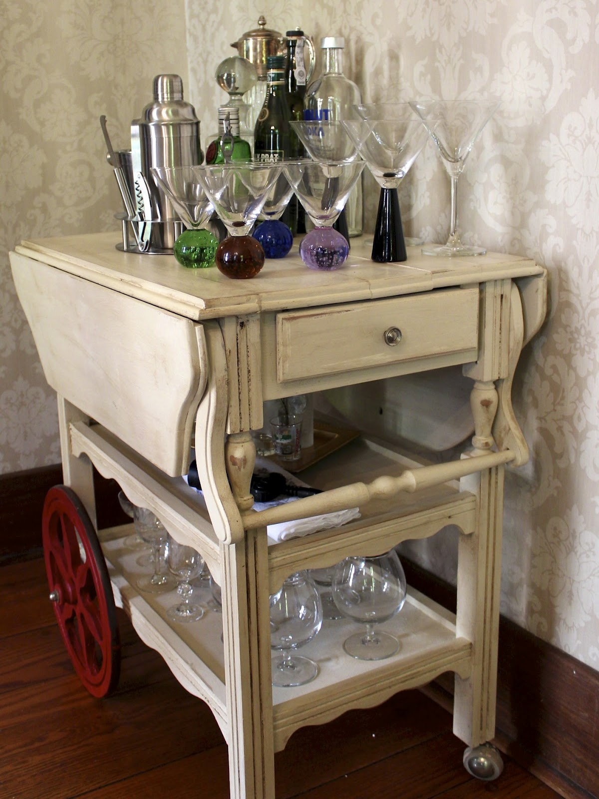 dining room bar cart | Abandoned - New House New Home