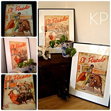 Carteles vintage online. Tienda de artículos de decoración. Objetos originales de época.