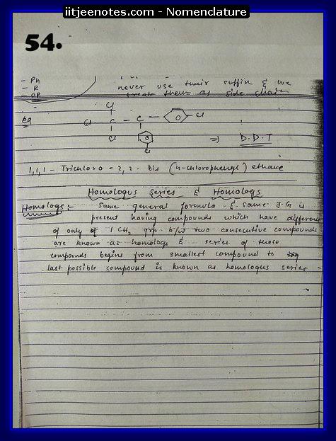nomenclature organic10