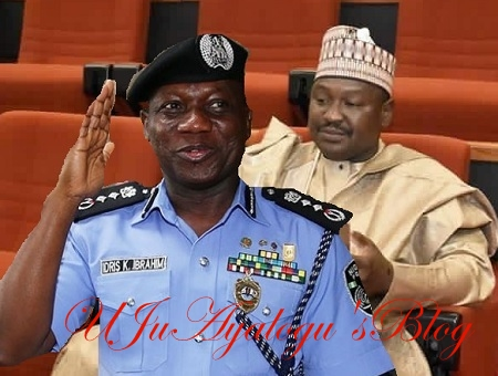 Police IG Ibrahim allegedly marries female officer after getting her in the family way - Senator Misau claims