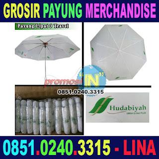 Jual Merchandise Payung Murah Grosir Travel Umroh dan Haji Plus Hudabiyah