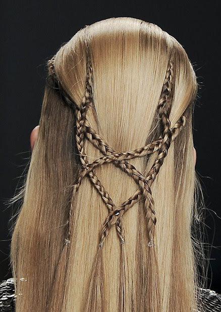 elven braids beauty - hair