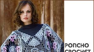 Delicado Poncho Crochet para Tejer Tú Misma / DIY