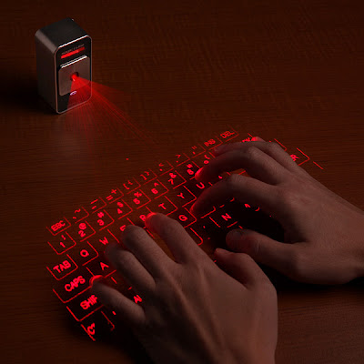 Must Have Compact Travel Gadgets - Virtual Keyboard