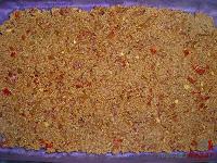 Lasaña de carne a la boloñesa-primera capa de carne