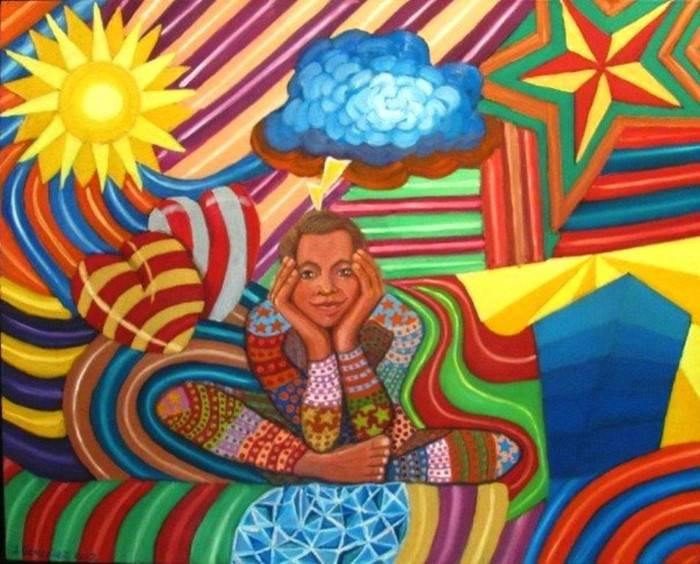 Современный мексиканский художник. Jacinto Gonzalez Gasque