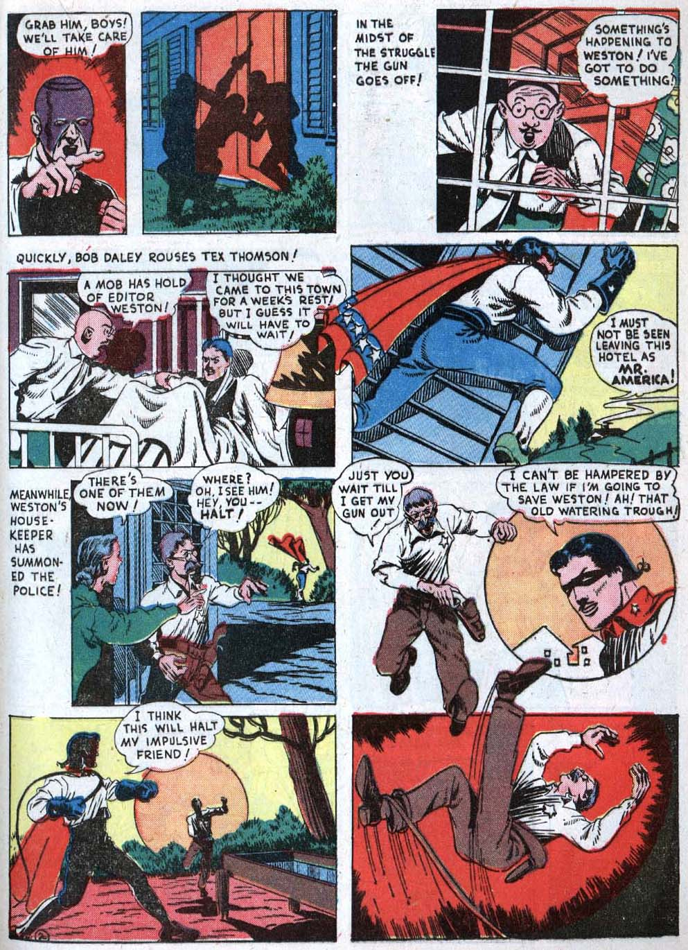 Read online Action Comics (1938) comic -  Issue #40 - 39