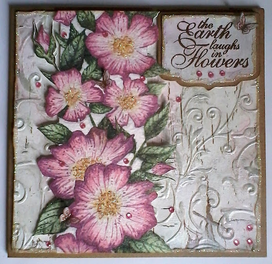 Crafty Cardmakers Challenge #189- Floral Profusion