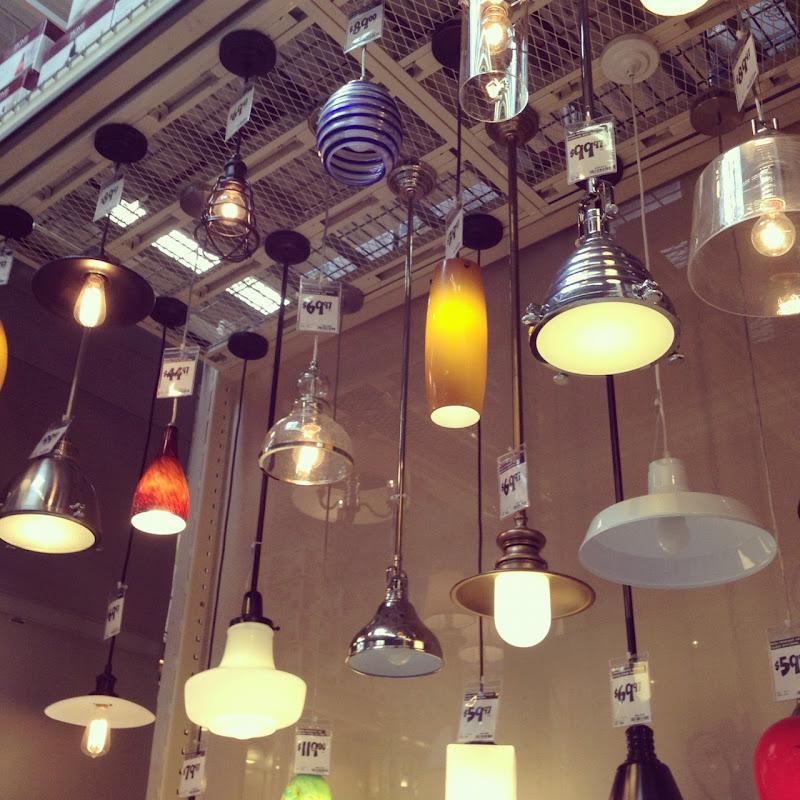 JPM Design: Home Depot Pendant Lights