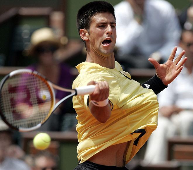 Novak Djokovic· conlosochosentidos.es