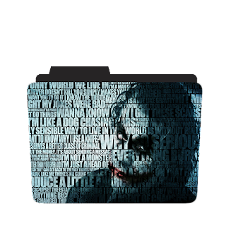 Joker Mosaic Collage
