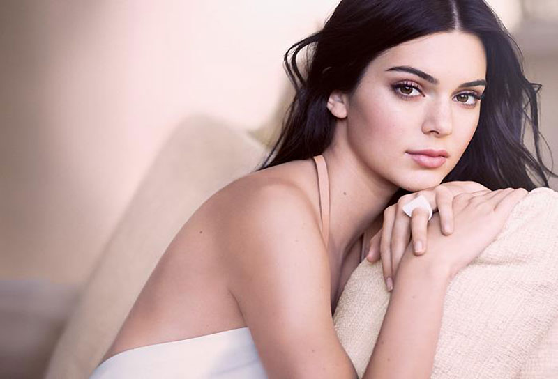 Kendall Jenner is a bombshell for Estee Lauder Campaign
