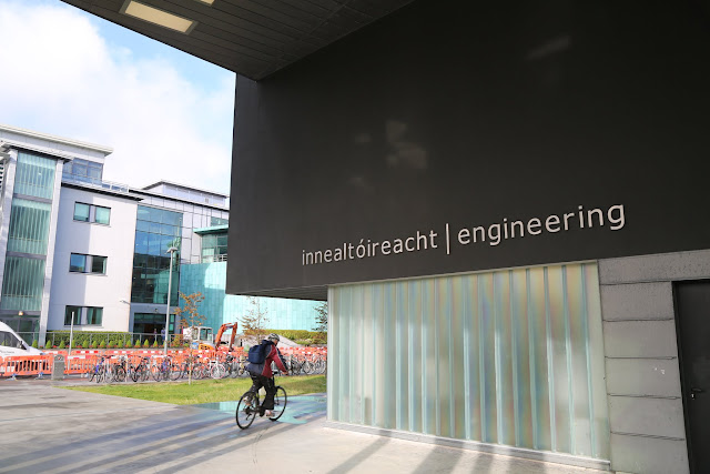 A Walking Tour of NUI Galway - Engineering Building