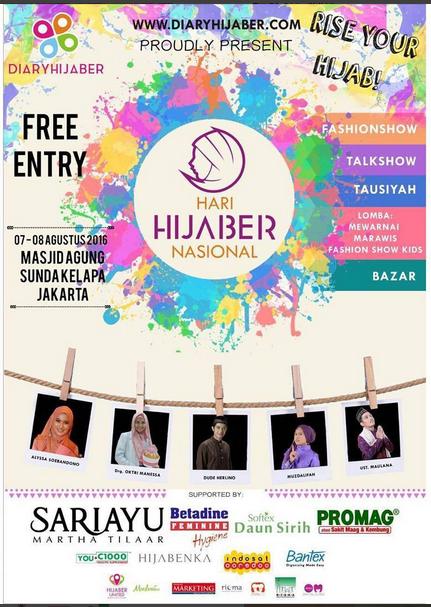 diaryhijaber, hijab, hijaber, hari hijaber nasional