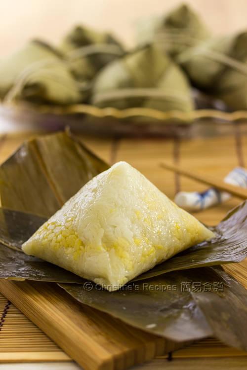 五角鹹肉糭 Cantonese Sticky Rice Dumpling01