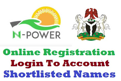 Login to Npower Portal - Registration Form