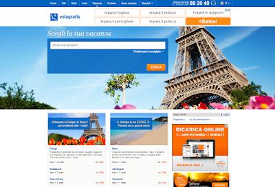 Viaggi e vacanze. Offerte volo hotel   Volagratis