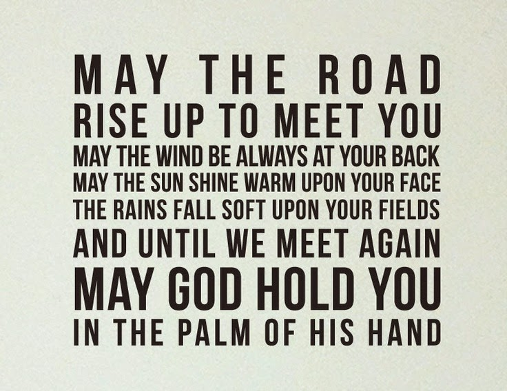 may the road always rise to meet you meaning