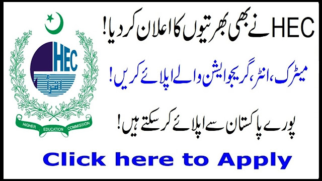 Higher Education Commission HEC Jobs 2020 Online Apply