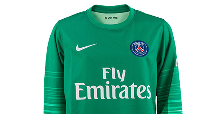 987f14e86 The new Paris Saint-Germain 15-16 Goalkeeper Kit introduces a striking new  look for the French champions