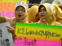 Tolak Tes CPNS 2018 Selama Honorer K2 Belum Diselesaikan