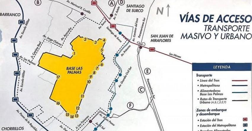 PAPA FRANCISCO EN PERÚ: Conoce desde dónde partirán los buses que te llevarán a Las Palmas - - www.elpapaenperu.com