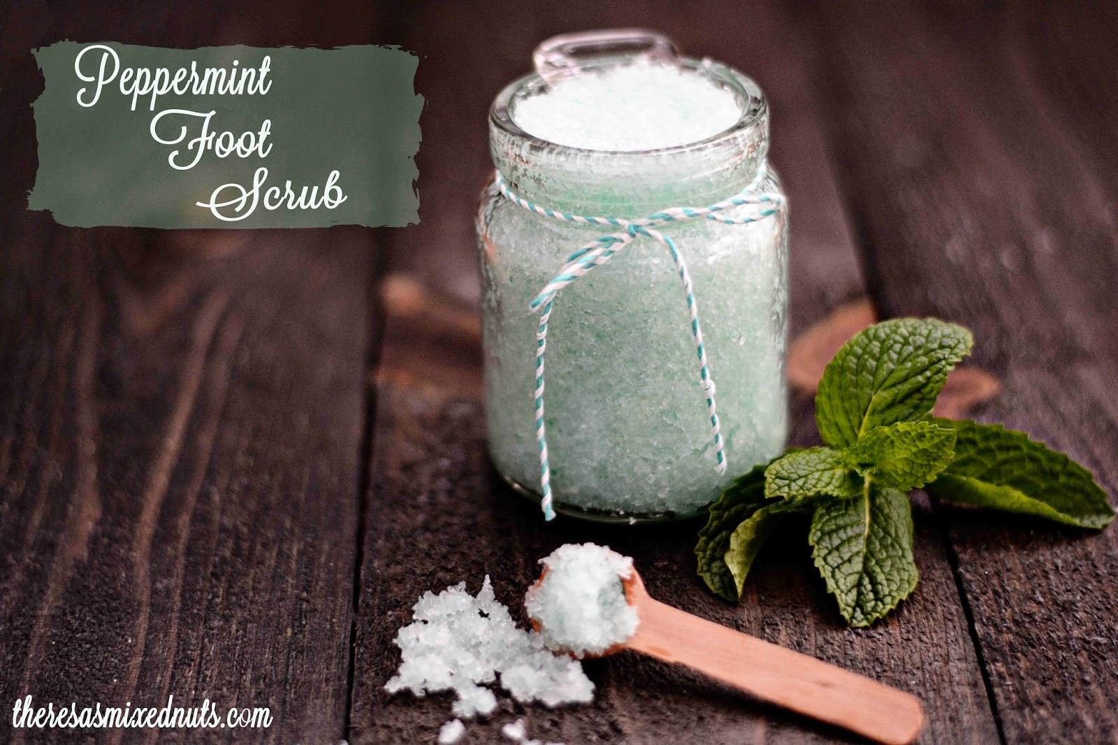 Peppermint Foot Scrub Recipe
