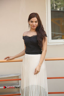Telugu Actress Tanya Hope Stills at Appatlo Okadundevadu Audio Launch  0292.JPG