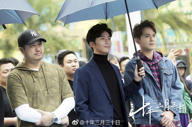 Ten Years Later Chinese drama begins filming umbrella