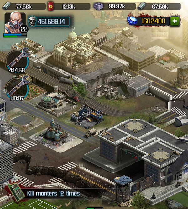 last empire-war z mod + hack - unlimited diamonds apk