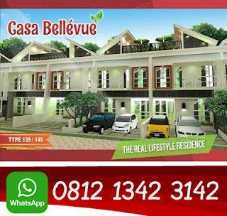 casa bellevue residence jual rumah