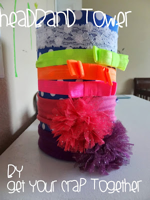 DIY Headband Storage