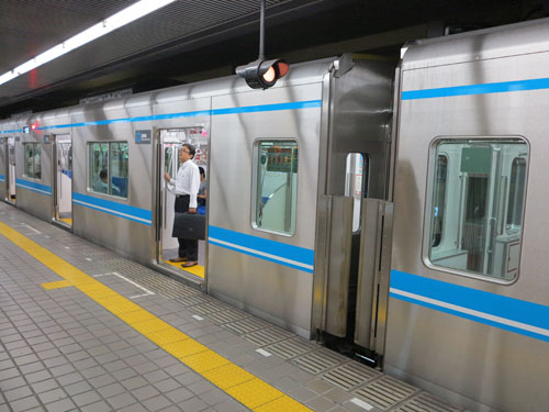 Nagoya Municipal Subway N3000 series train