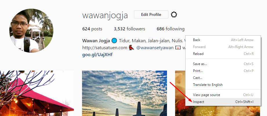 Cara Upload Foto di Instagram lewat PC TANPA Software