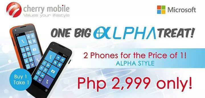 Cherry Mobile One Big Alpha Treat