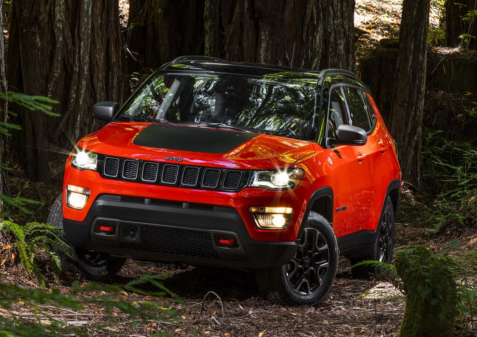 2017 jeep compass revealed, looks like a smaller grand cherokee