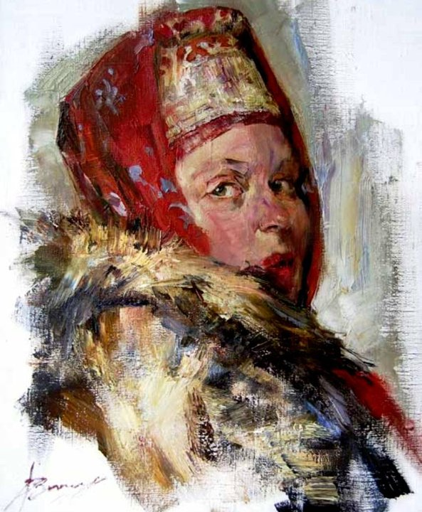 "Beautiful Paintings By Russian Painter-""Anna Vinogradova"" 1975"