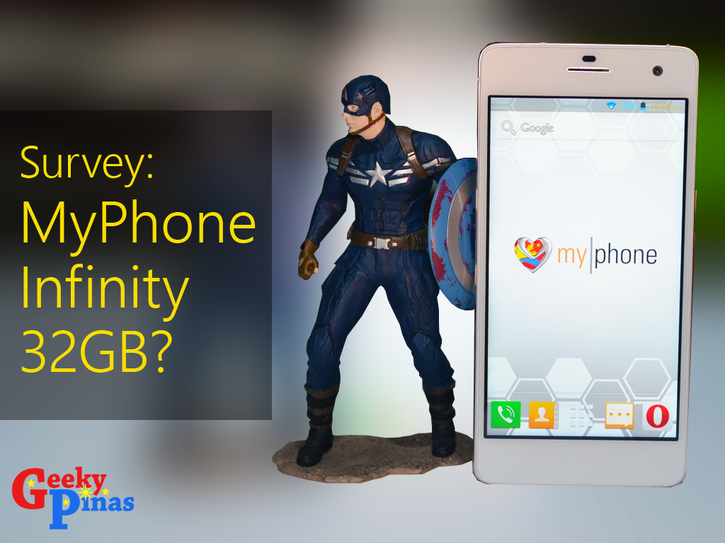 Survey: Do you want MyPhone Infinity to have a 32GB Version?