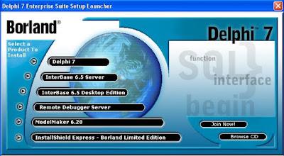 Cara Menginstall Software Borland Delphi 7   Full Tutorial