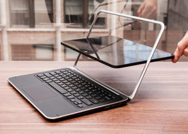 Dell XPS 12 laptop convertible / tablet dengan Windows 8
